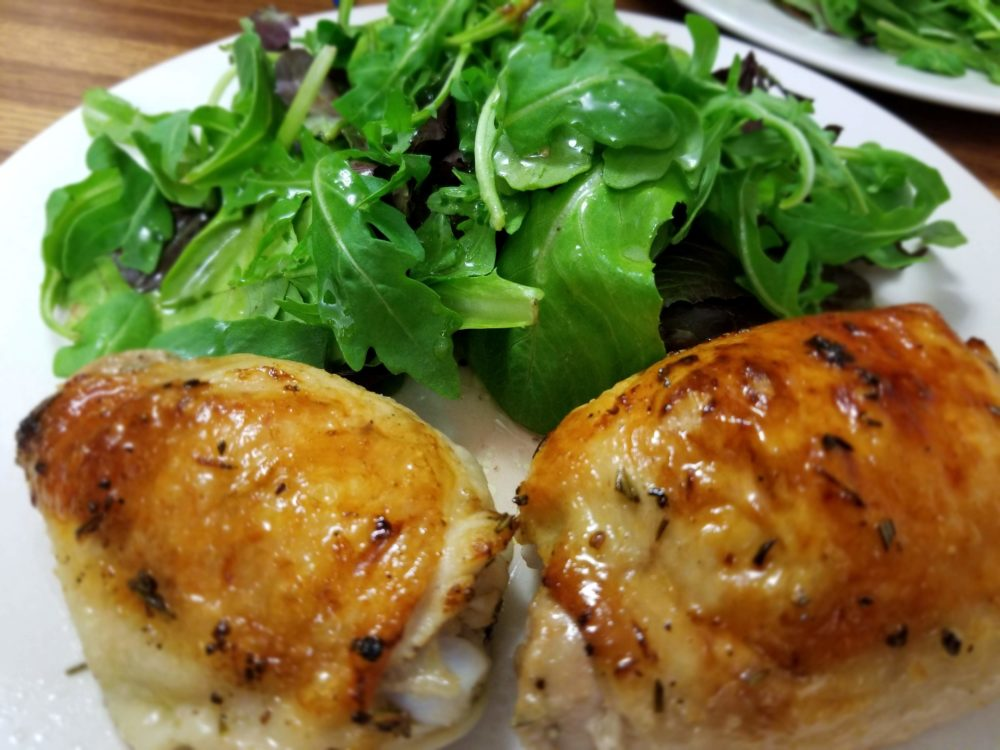 Anna's Lemony Chicken Thighs