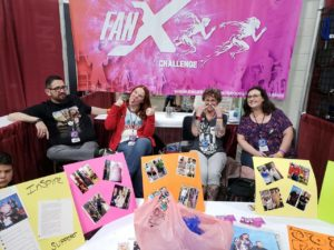FanX Challenge Booth Group