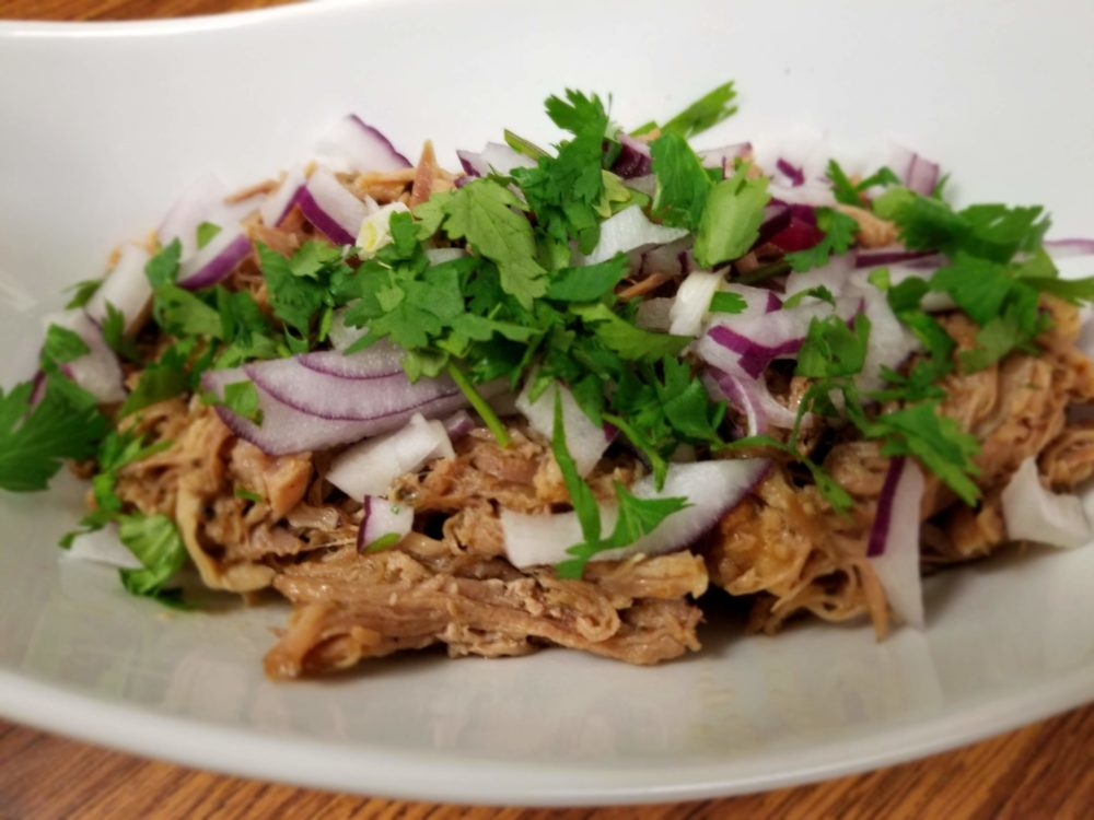 Carnitas? Maybe. Delicioso? Definitely!
