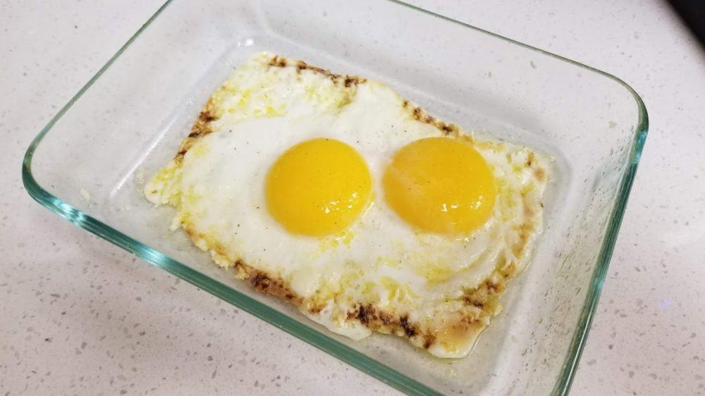 Sunny Side Up Office Microwave Eggs